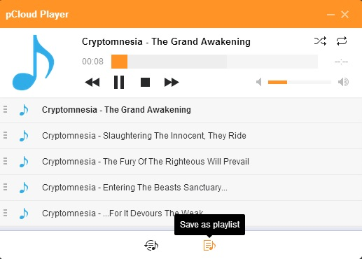 Audio player 1