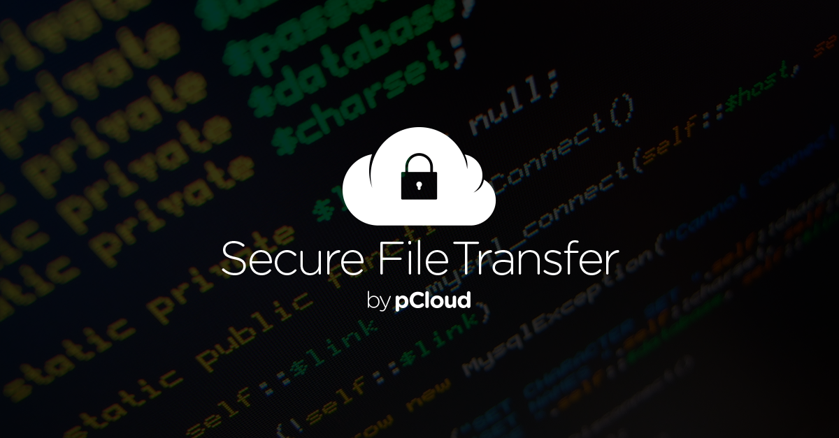 Transfer encrypted files with transfer pCloud com - The