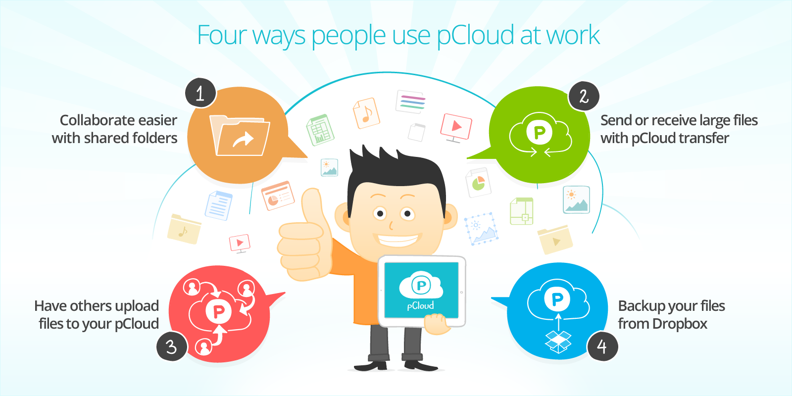 Four ways people use pCloud at work - The pCloud Blog