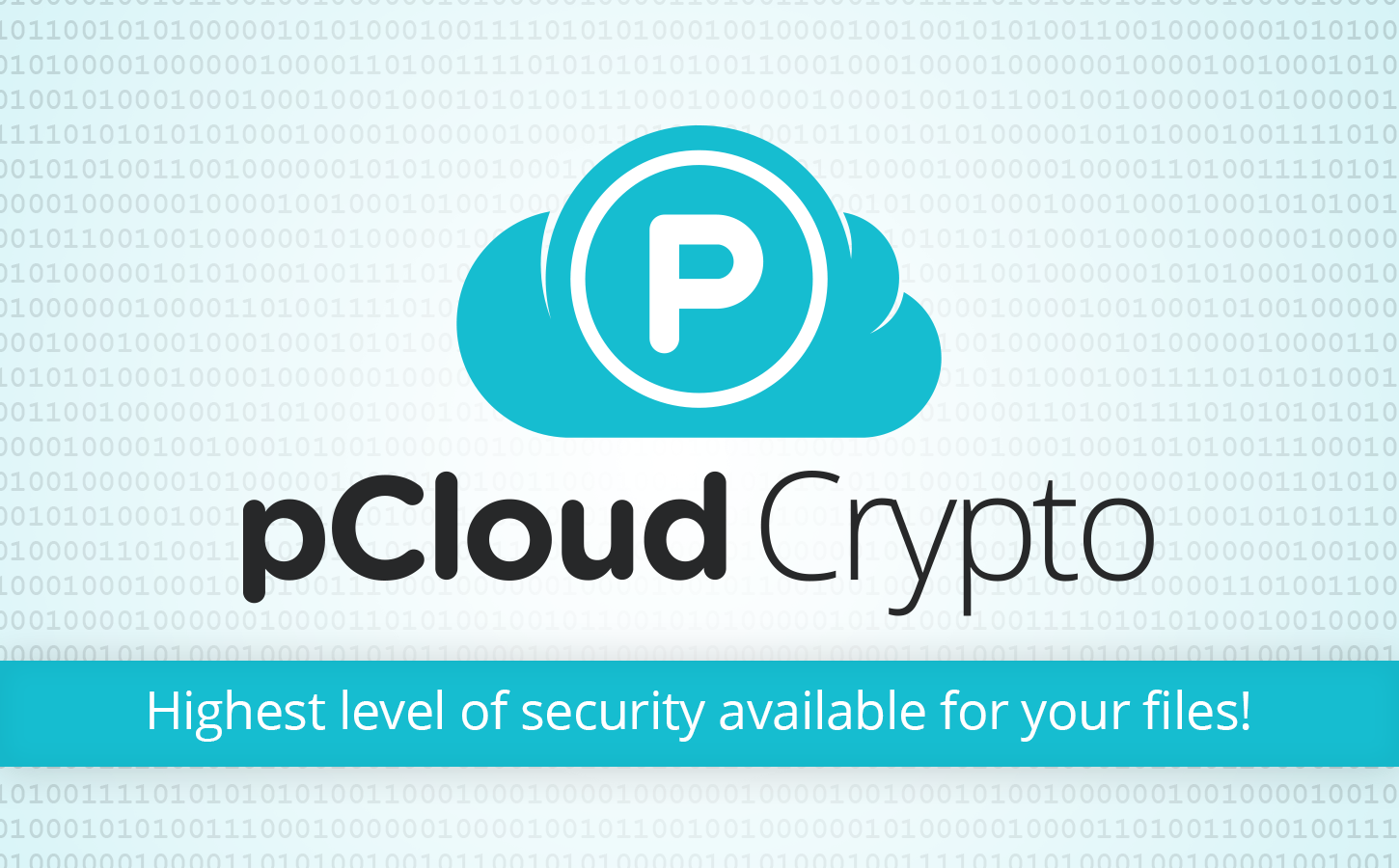 pCloud Crypto - Highest level of security available for your files!