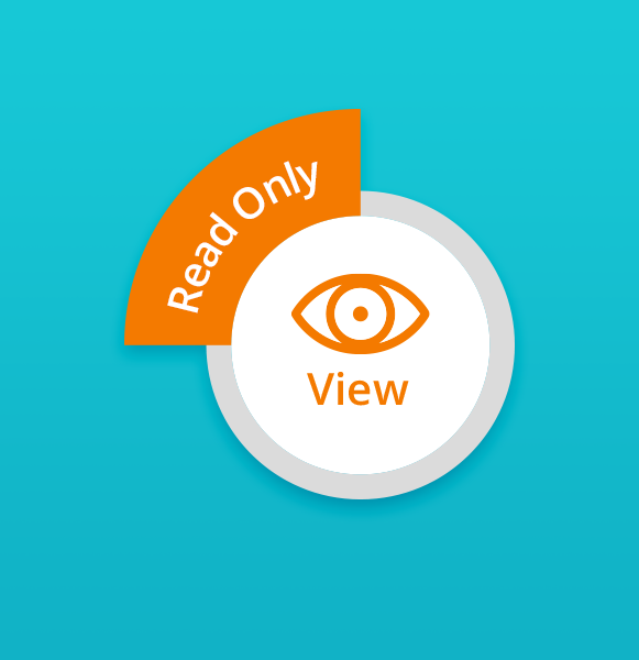 View option in pCloud collaboration
