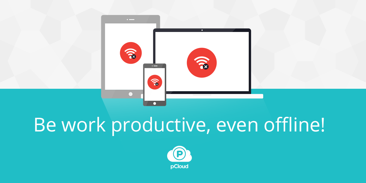 Work with pCloud, even offline
