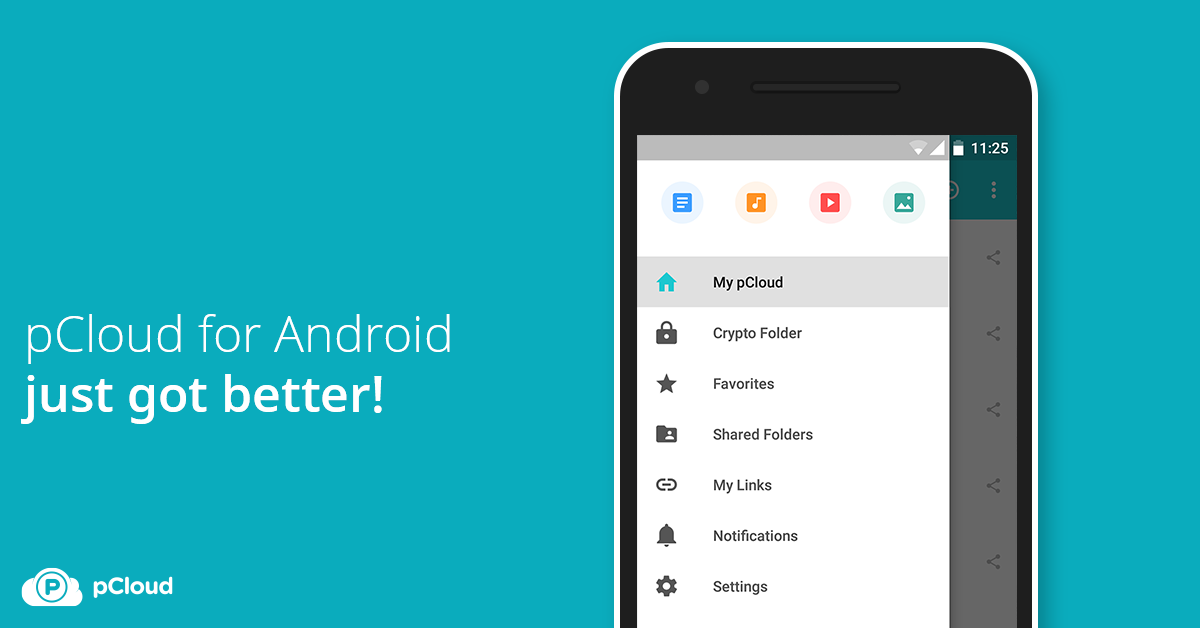 pCloud for Android just got better!