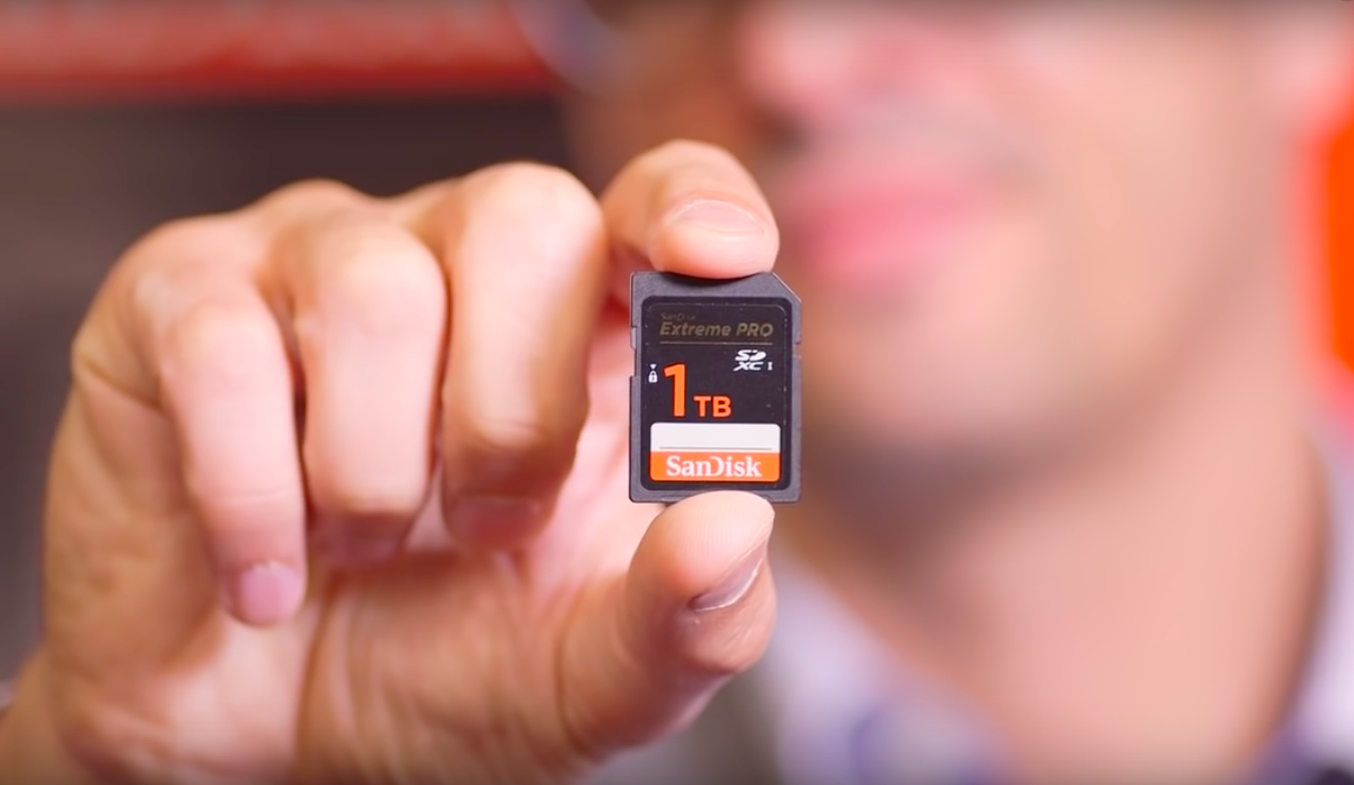SanDisk 1 TB SD card | The pCloud Blog