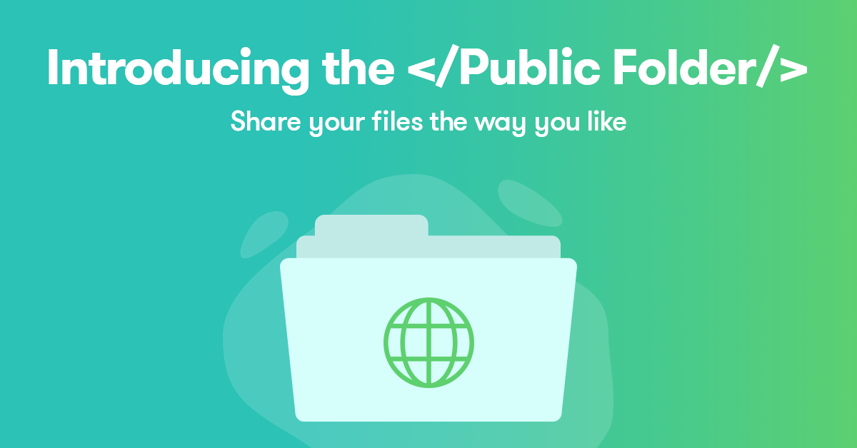 Let's welcome the Public Folder at pCloud - The pCloud Blog