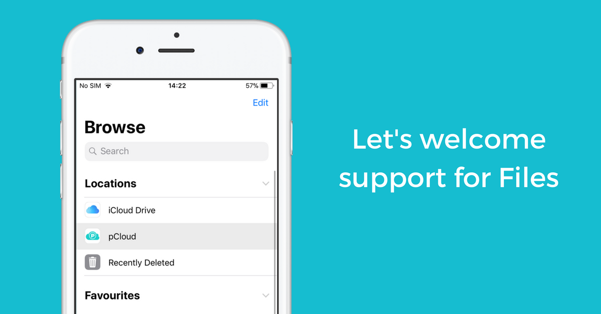 pCloud with support for the Files app - The pCloud Blog